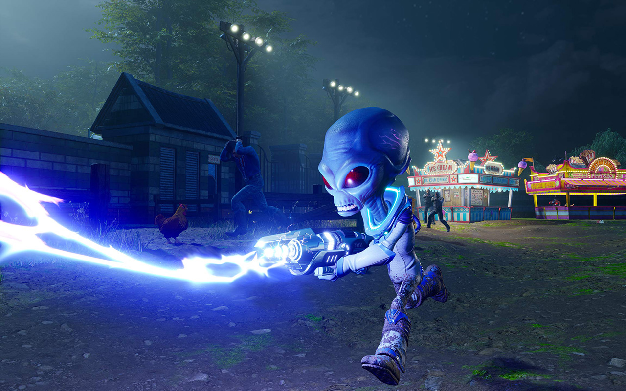 Free Destroy All Humans! Wallpaper in 1280x800