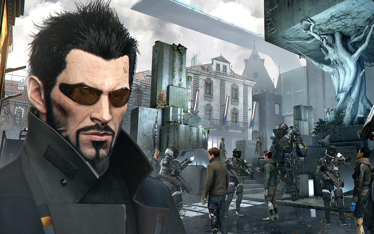 Free Deus Ex: Mankind Divided Wallpaper in 1280x800