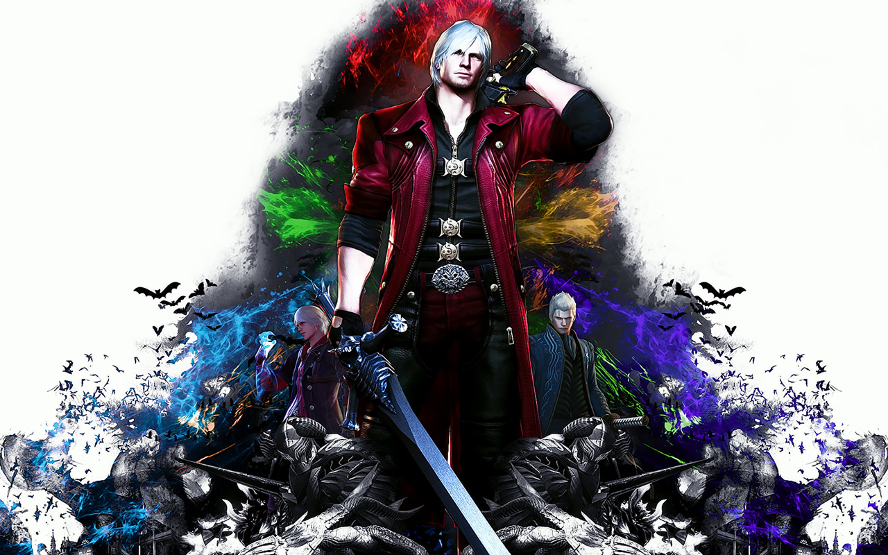 Free Devil May Cry 4 Wallpaper in 1280x800