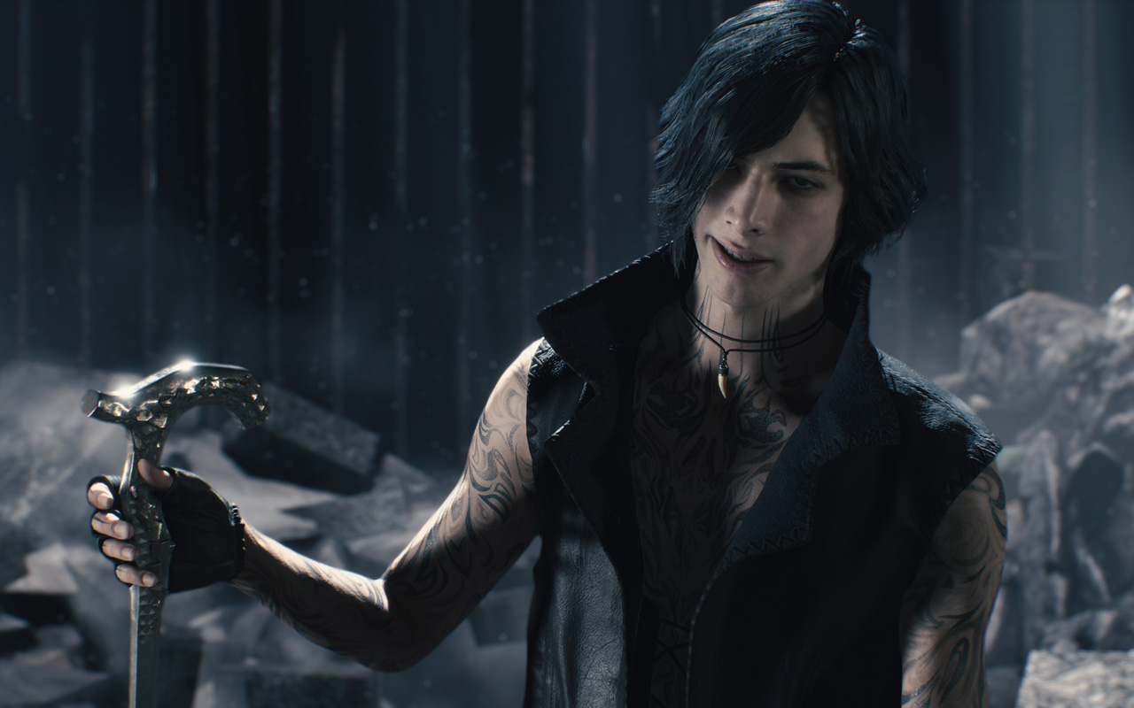 Free Devil May Cry 5 Wallpaper in 1280x800