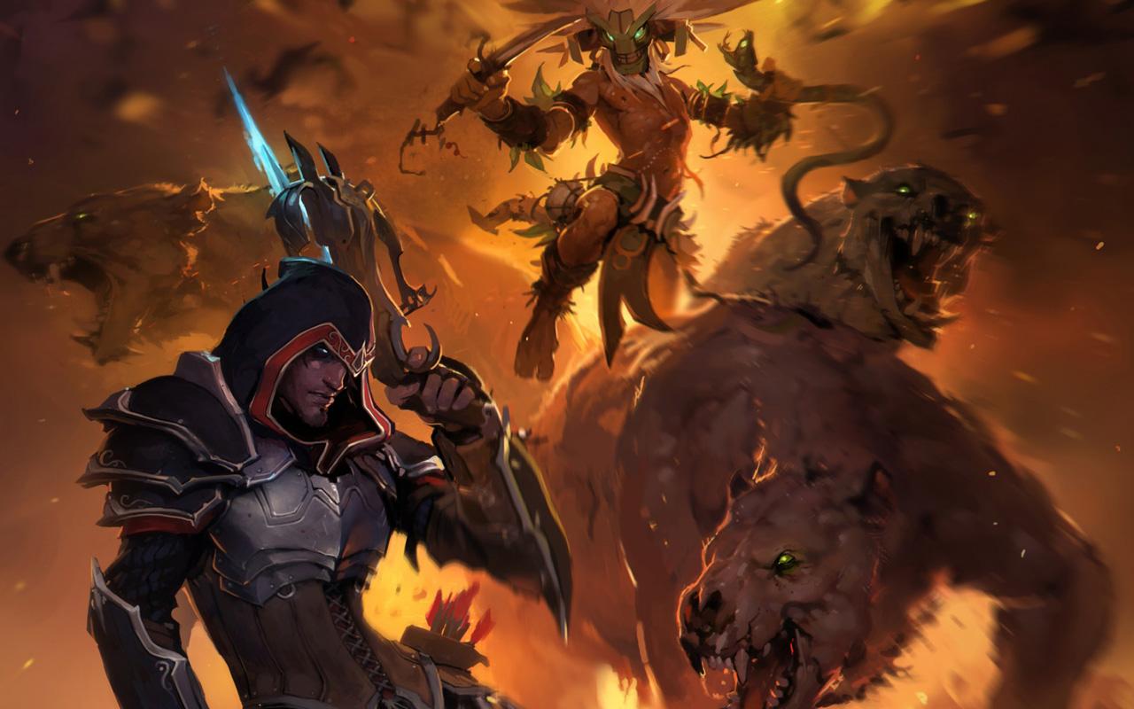Free Diablo III Wallpaper in 1280x800