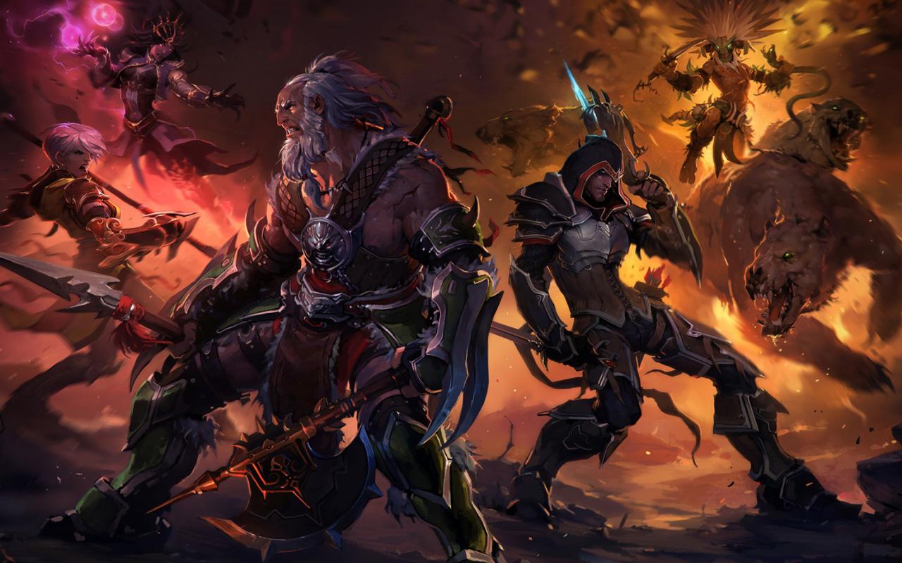 Diablo III Wallpaper in 1280x800