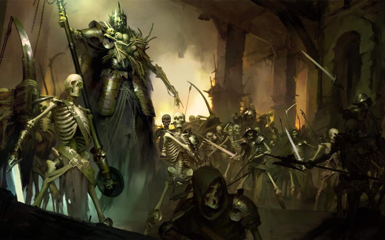 Free Diablo IV Wallpaper in 1280x800