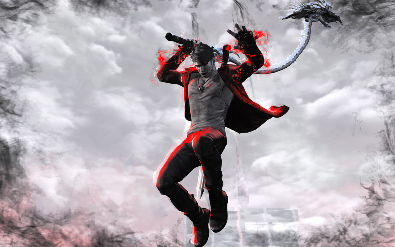 Free DmC: Devil May Cry Wallpaper in 1280x800