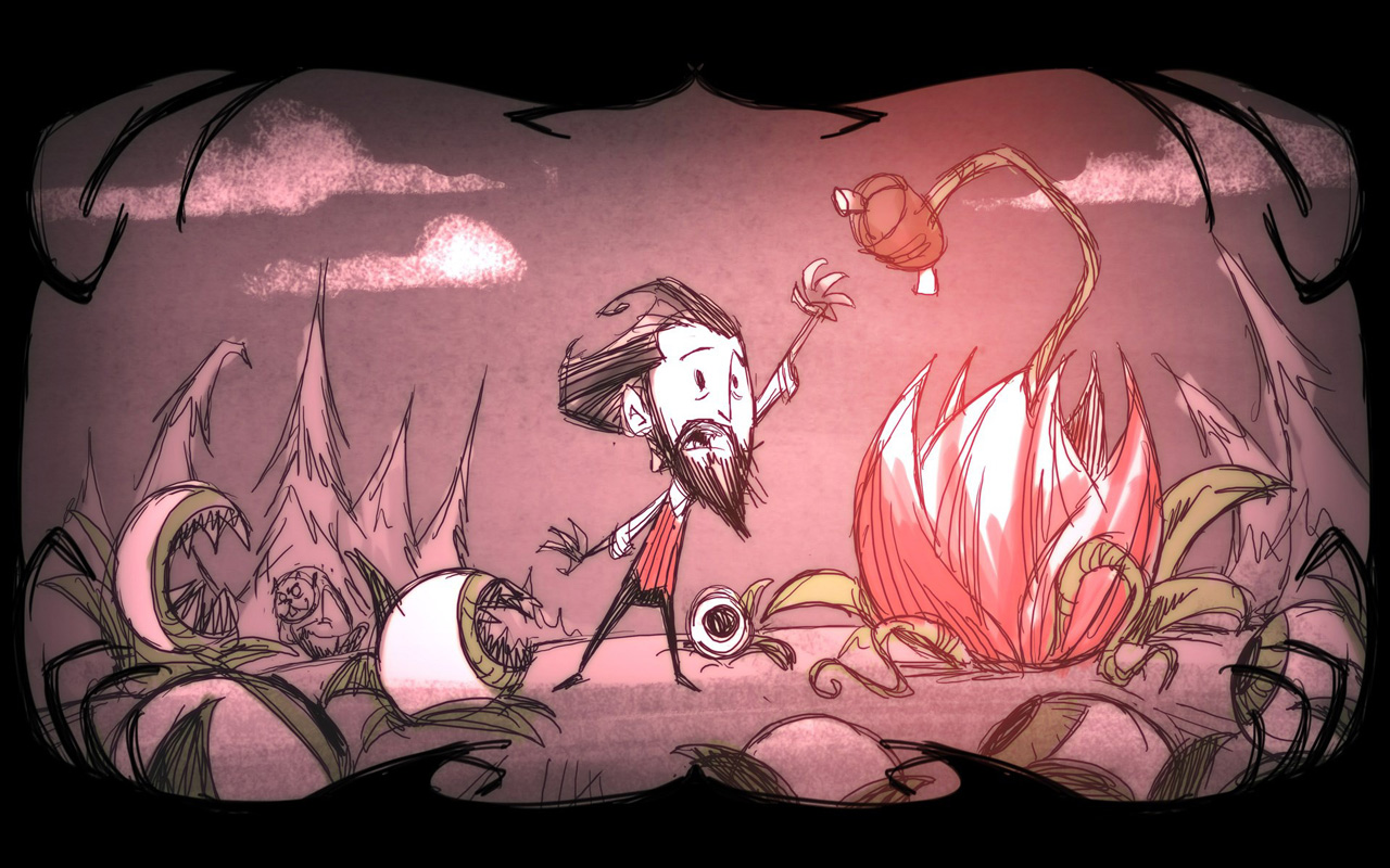 Free Don't Starve Wallpaper in 1280x800