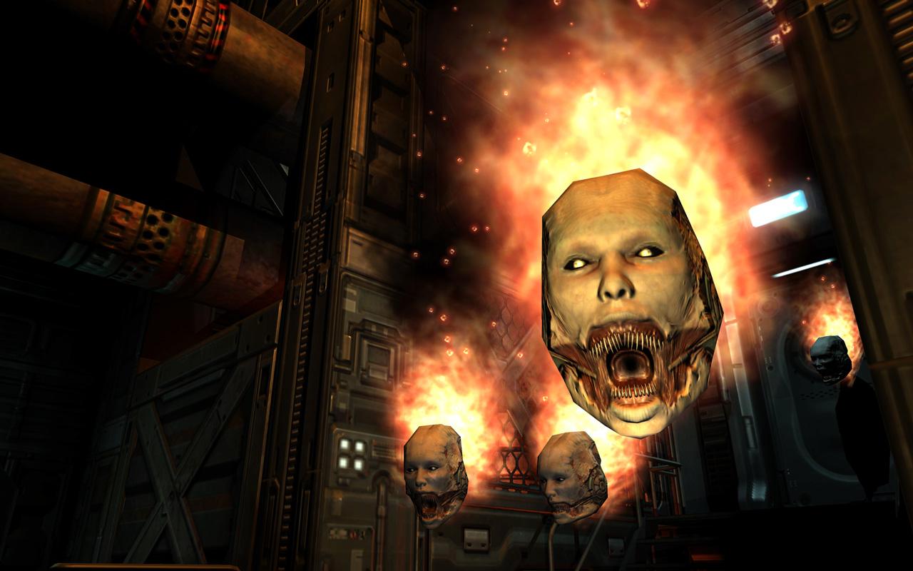 Free Doom 3 Wallpaper in 1280x800