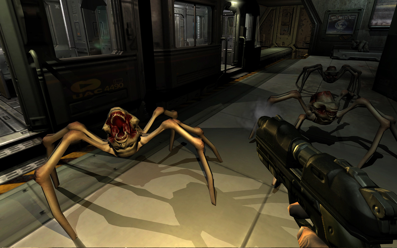 Free Doom 3 Wallpaper in 1280x800