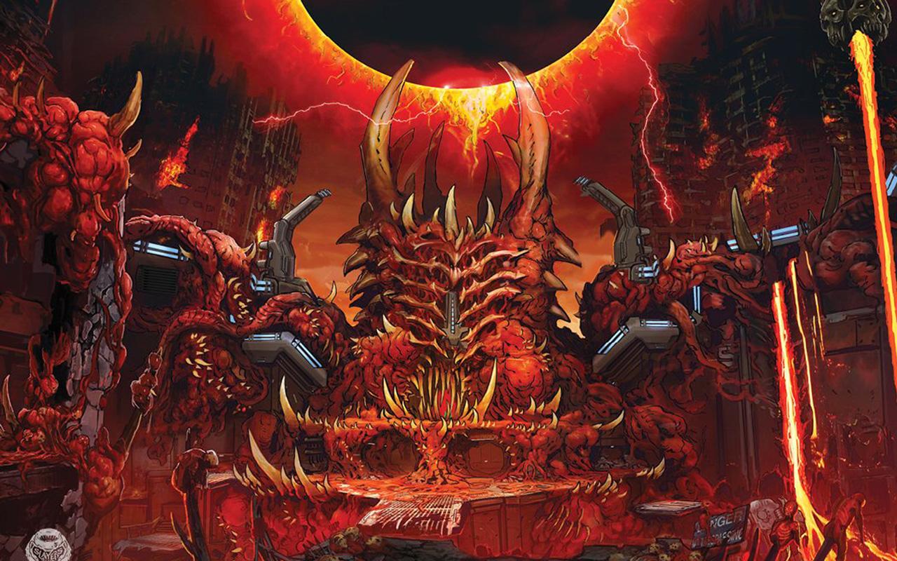 Free Doom Eternal Wallpaper in 1280x800
