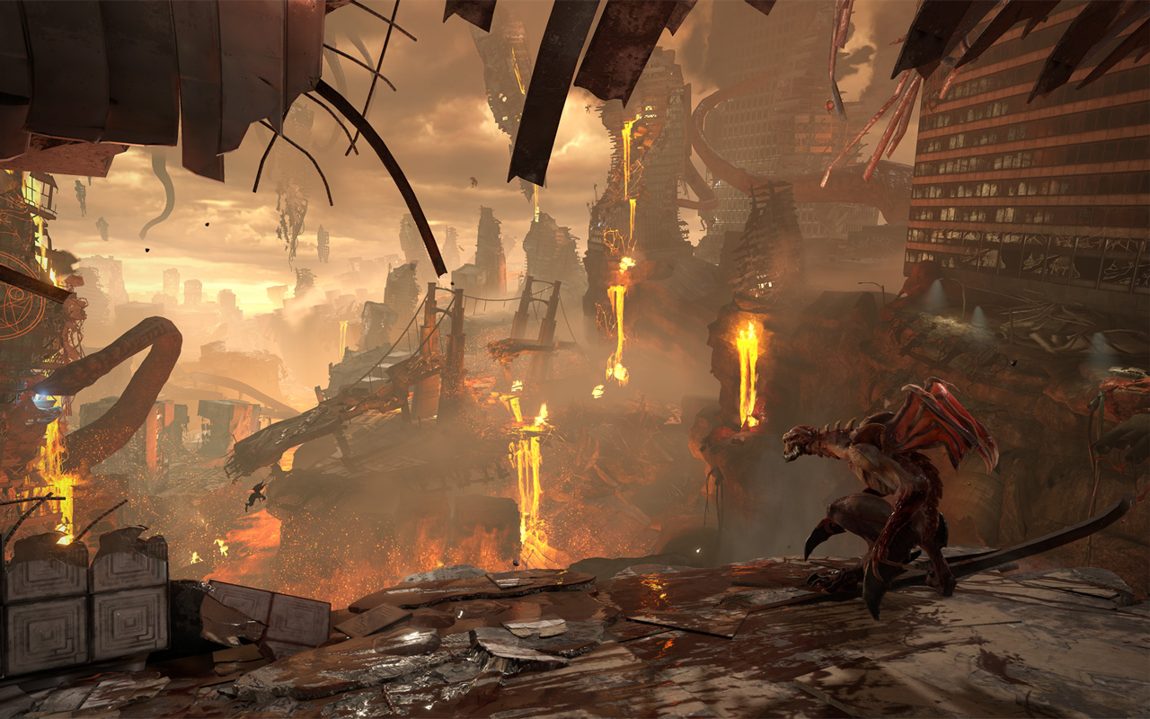 Free Doom Eternal Wallpaper in 1280x800