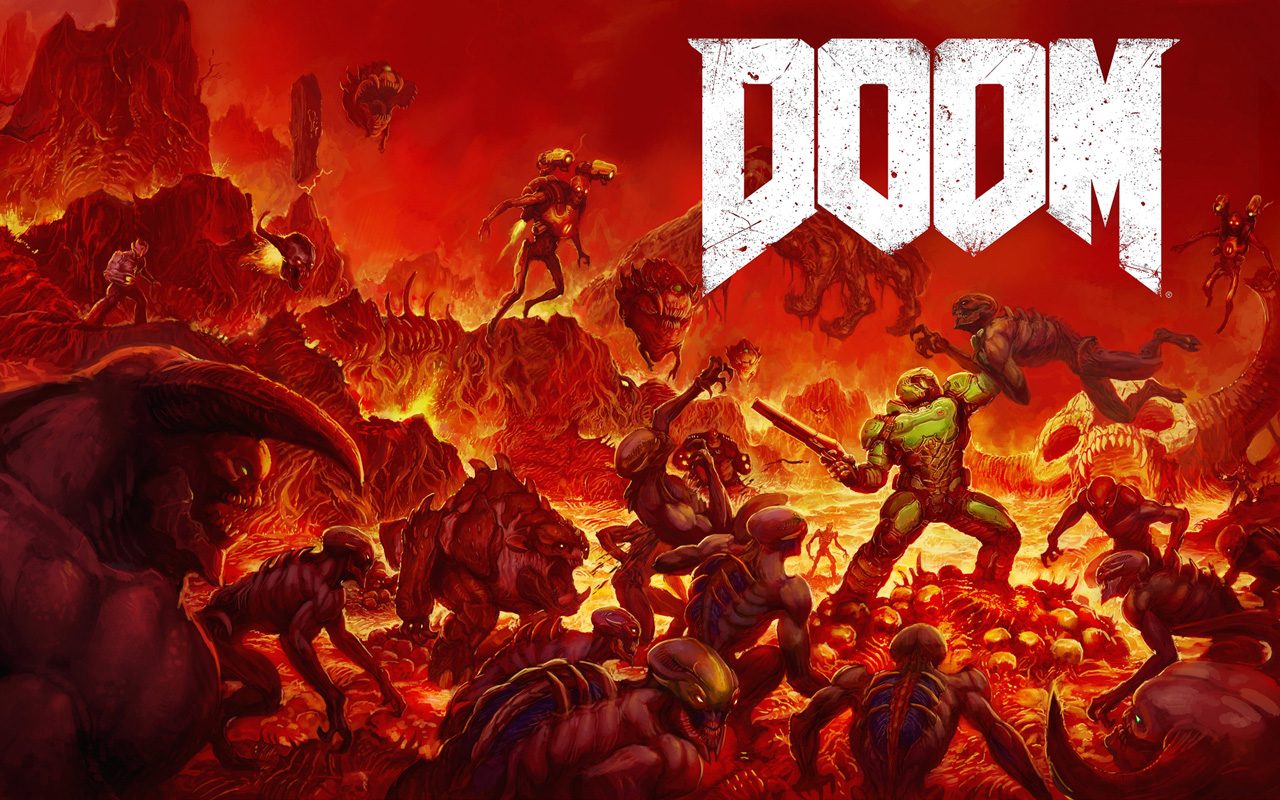 Free Doom (2016) Wallpaper in 1280x800