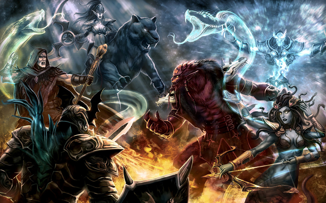 Free DotA: Defense of the Ancients Wallpaper in 1280x800