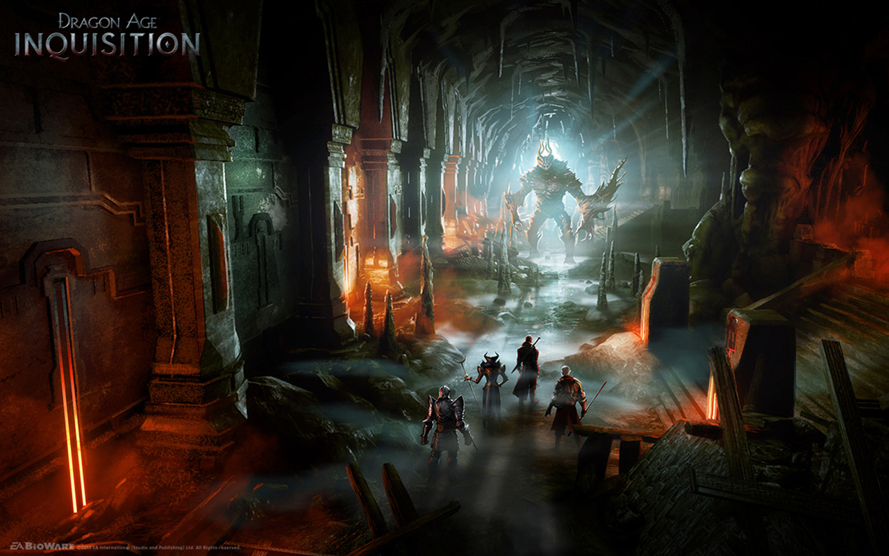 Free Dragon Age: Inquisition Wallpaper in 1280x800