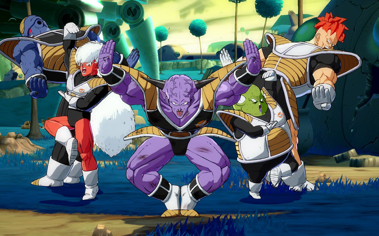 Free Dragon Ball FighterZ Wallpaper in 1280x800