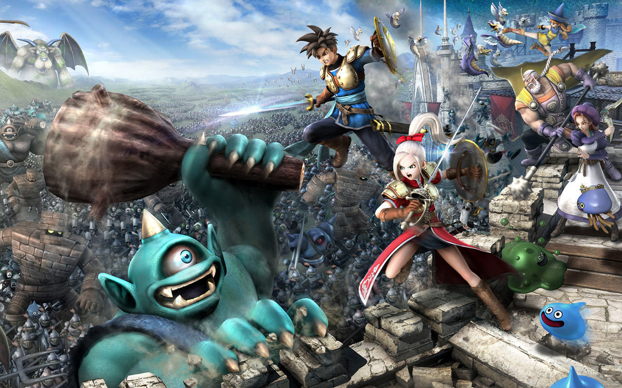 Free Dragon Quest Heroes Wallpaper in 1280x800
