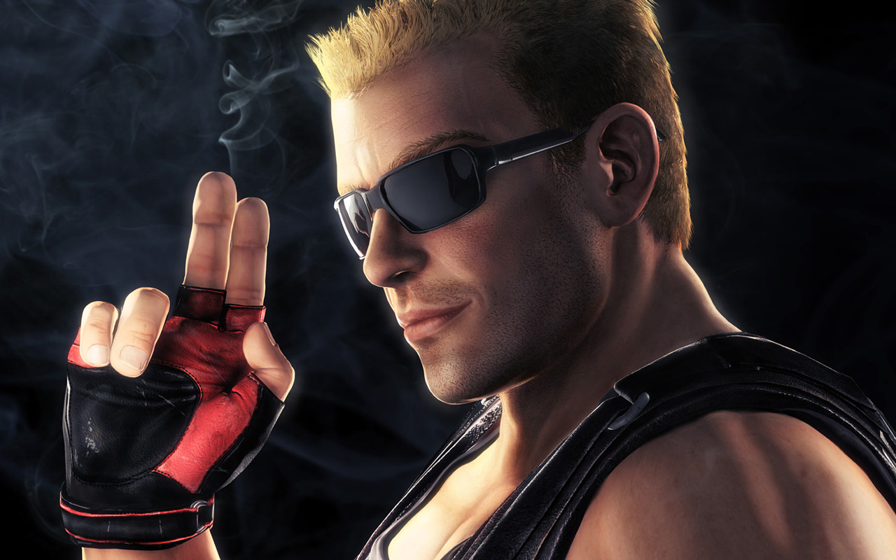 Duke Nukem Forever Wallpaper in 1280x800