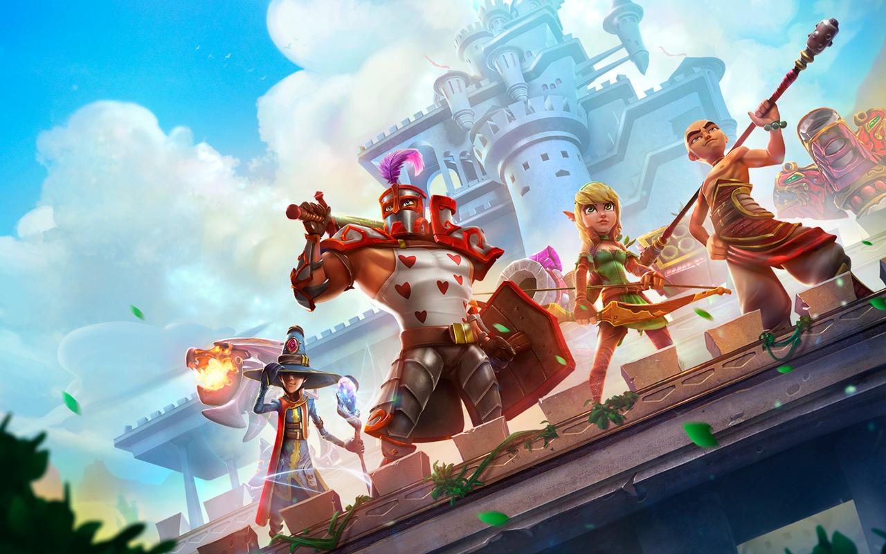 Free Dungeon Defenders 2 Wallpaper in 1280x800