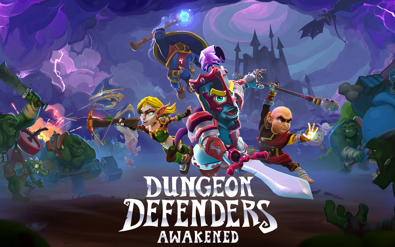 Free Dungeon Defenders: Awakened Wallpaper in 1280x800