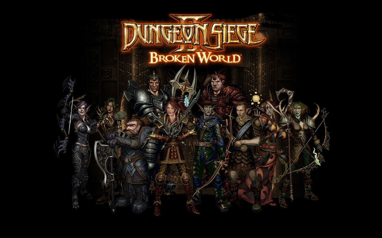 Free Dungeon Siege II Wallpaper in 1280x800