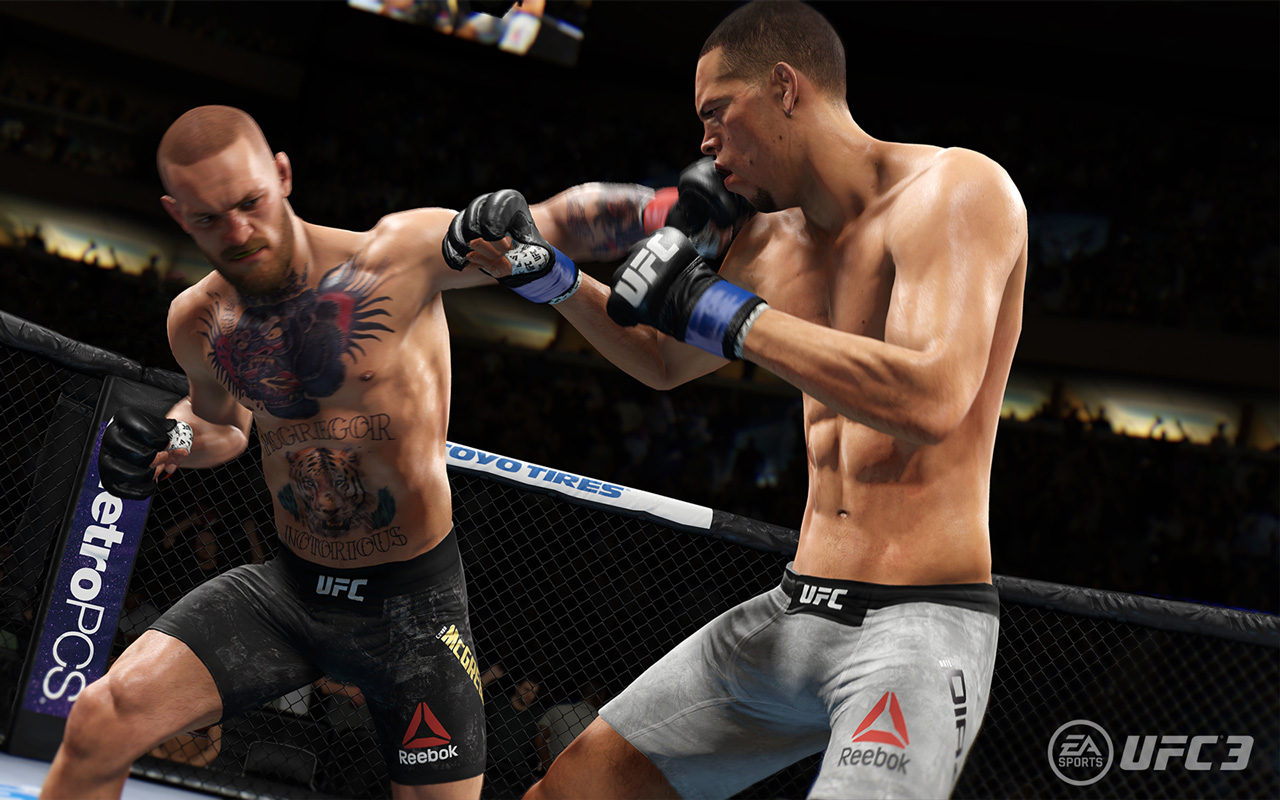 Free EA Sports UFC 3 Wallpaper in 1280x800