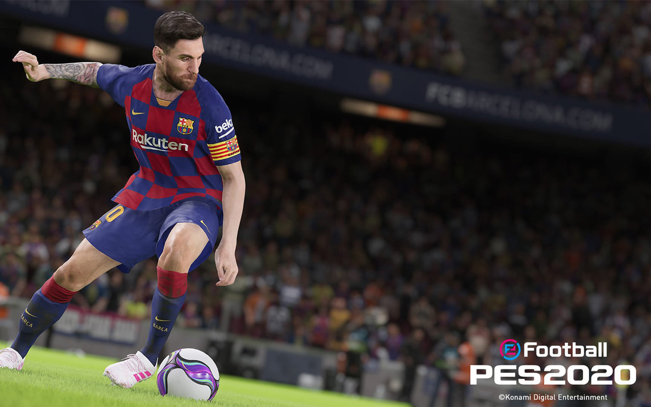 Free eFootball PES 2020 Wallpaper in 1280x800