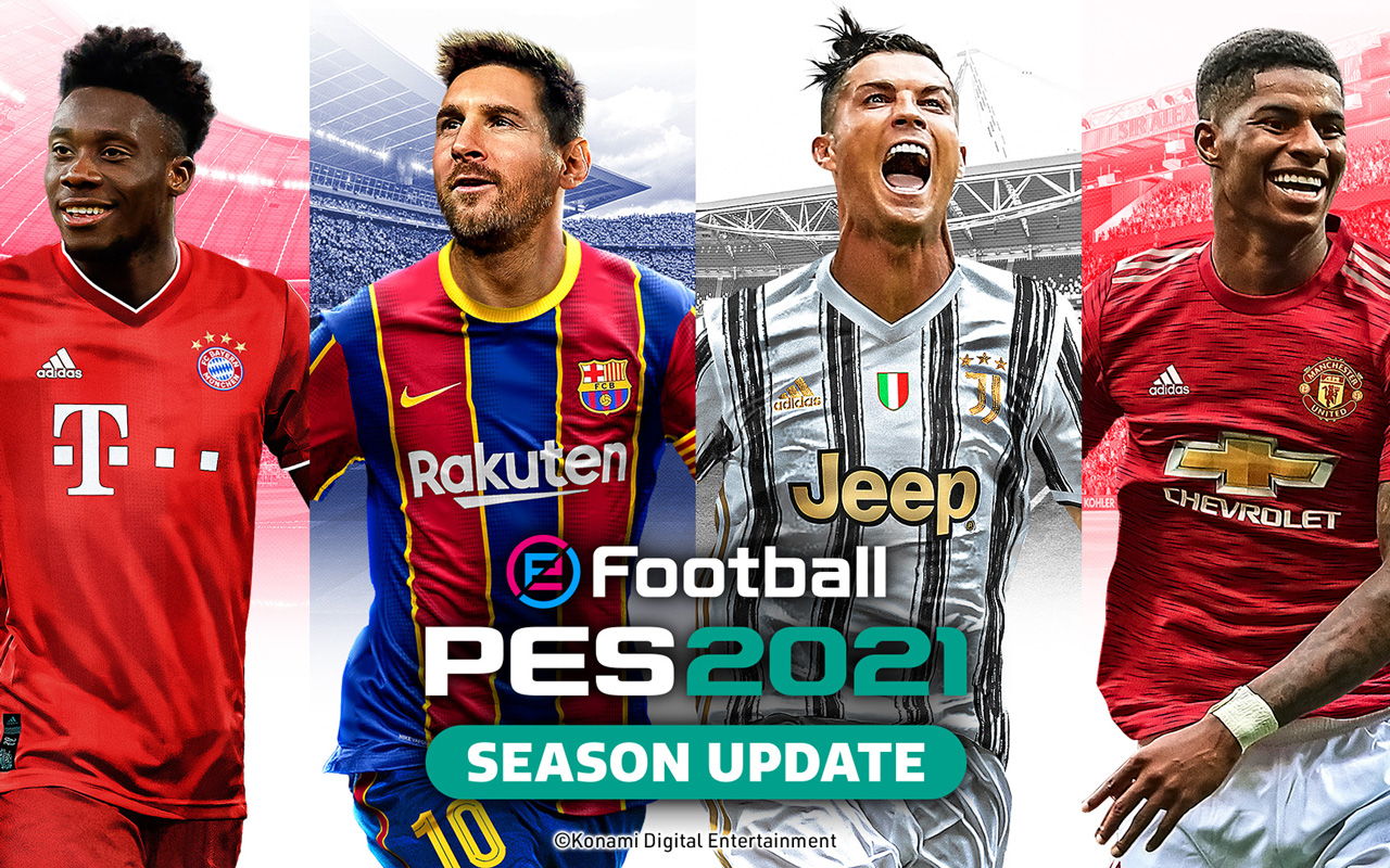 Free eFootball PES 2021 Wallpaper in 1280x800