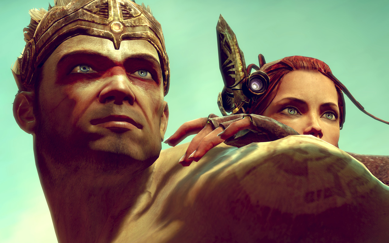 Free Enslaved: Odyssey to the West Wallpaper in 1280x800