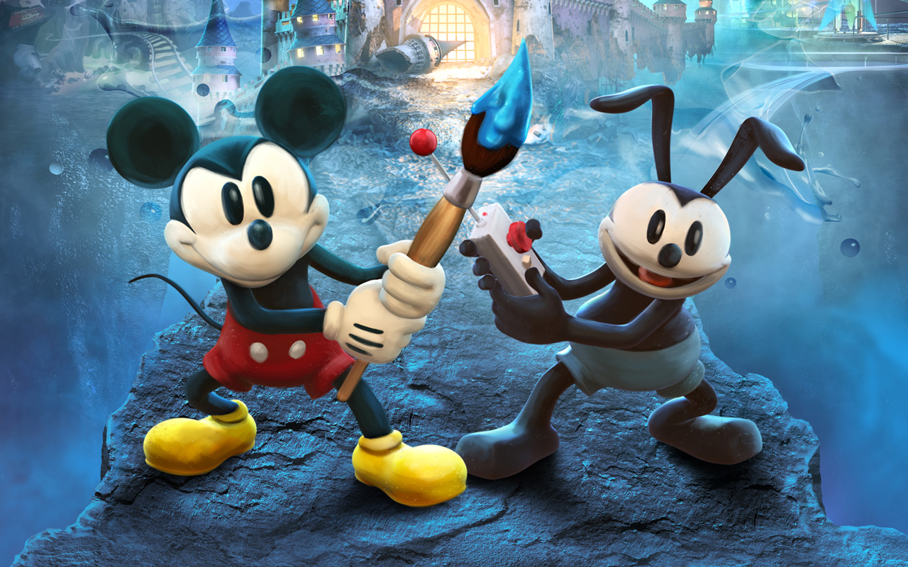 Free Epic Mickey 2: The Power of Two Wallpaper in 1280x800