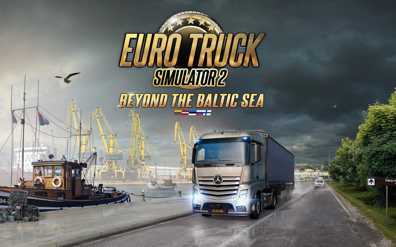 Free Euro Truck Simulator 2 Wallpaper in 1280x800