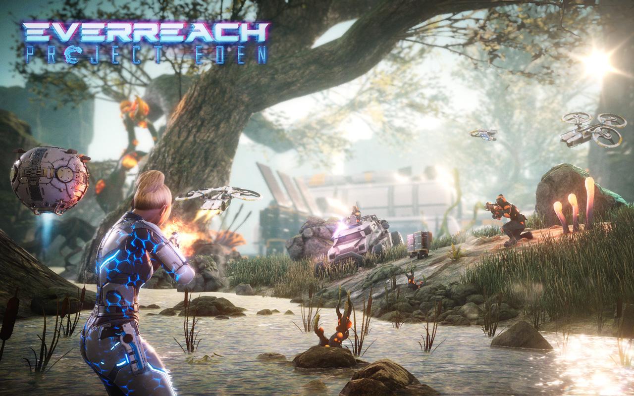 Free Everreach: Project Eden Wallpaper in 1280x800