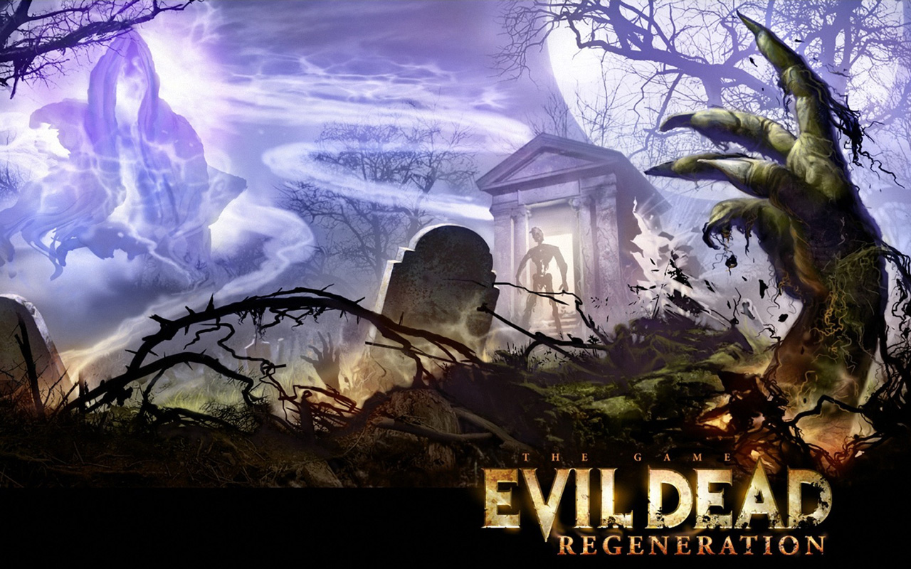 Evil Dead: Regeneration Wallpaper in 1280x800