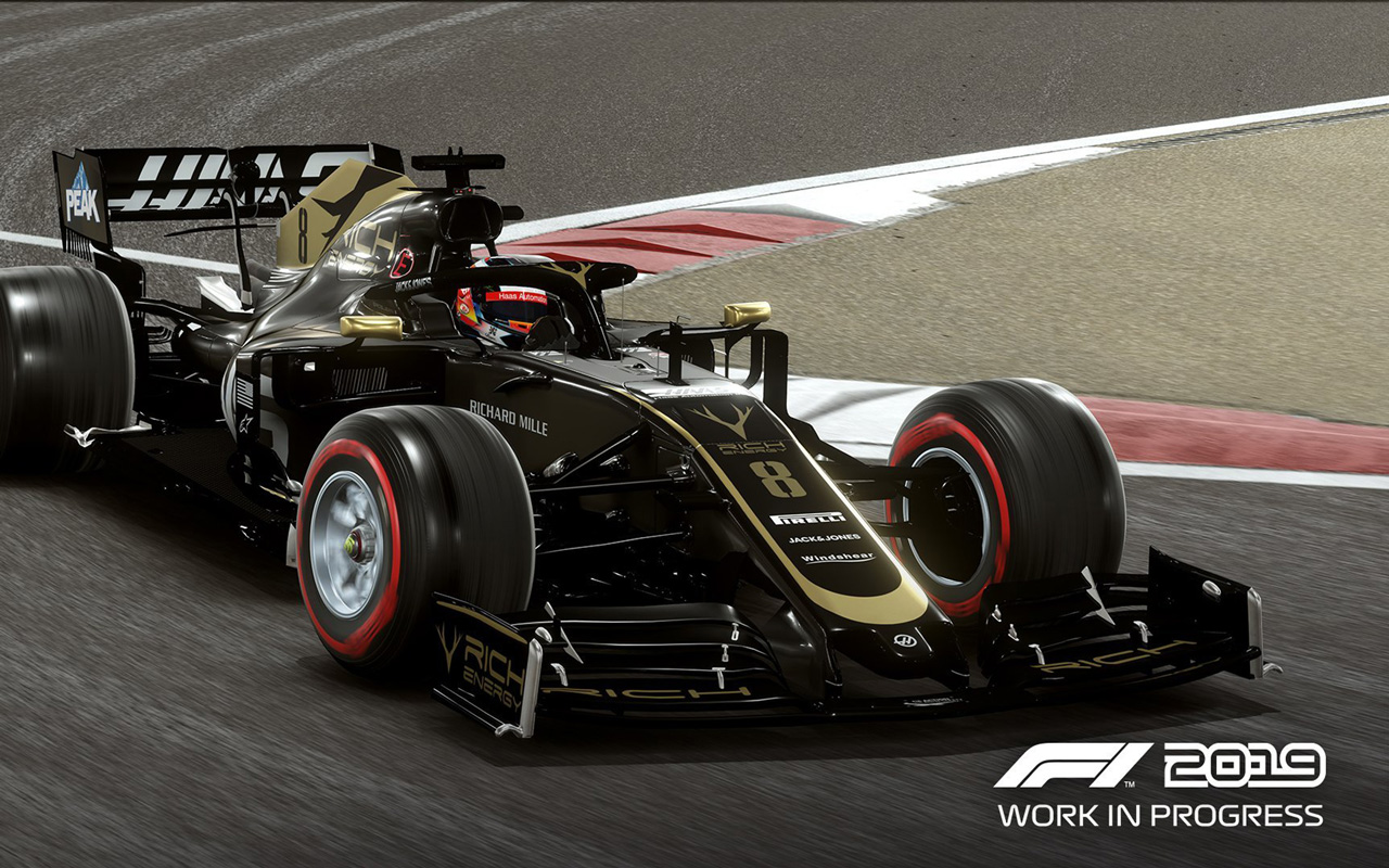 Free F1 2019 Wallpaper in 1280x800
