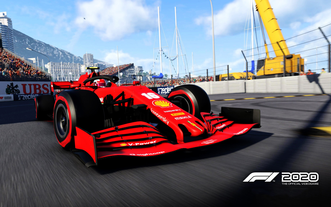 F1 2020 Wallpaper in 1280x800