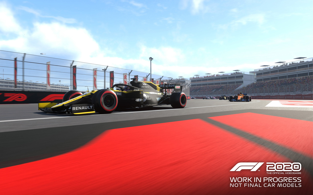 F1 2020 Wallpaper in 1280x800