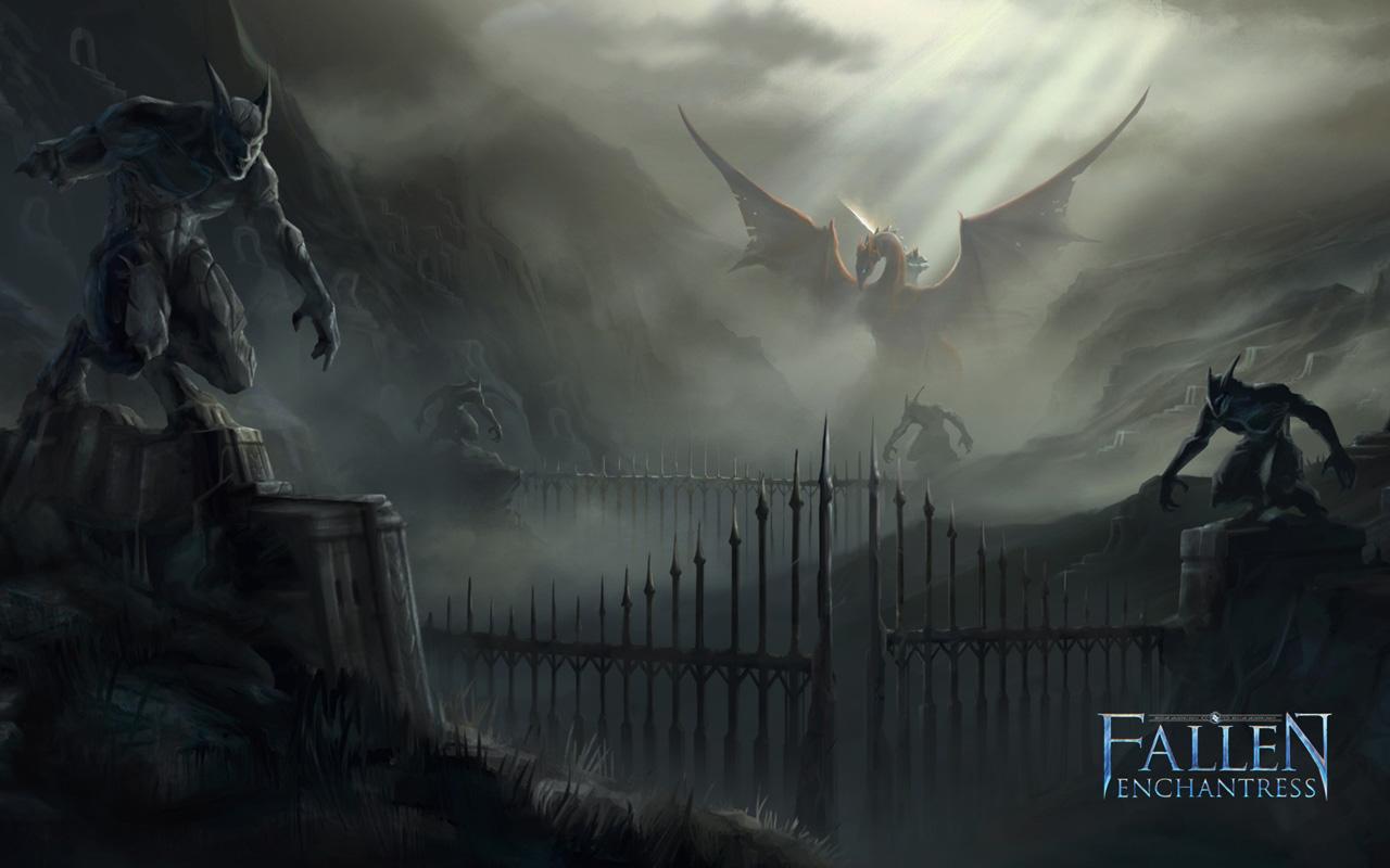 Free Fallen Enchantress Wallpaper in 1280x800