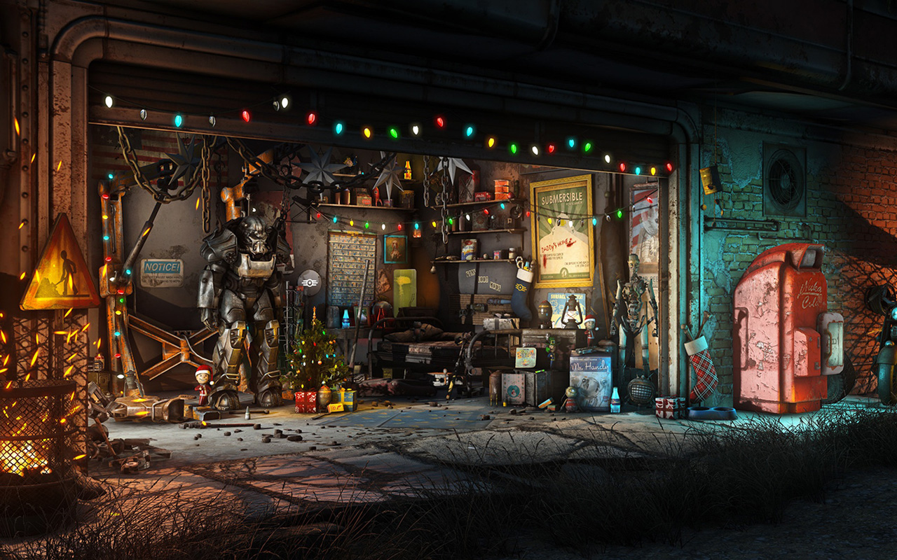 Free Fallout 4 Wallpaper in 1280x800