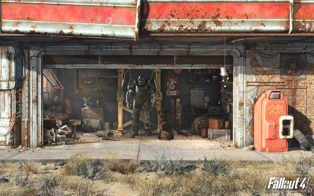 Free Fallout 4 Wallpaper in 1280x800