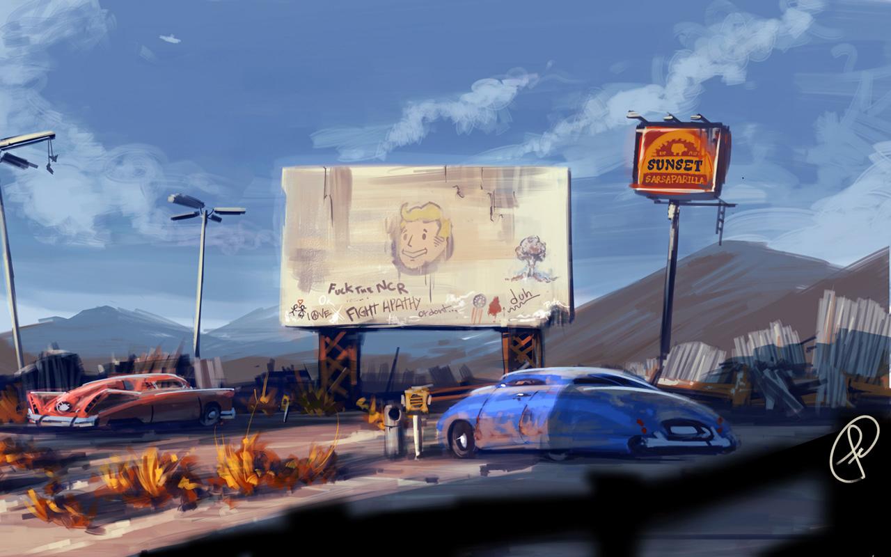Free Fallout: New Vegas Wallpaper in 1280x800
