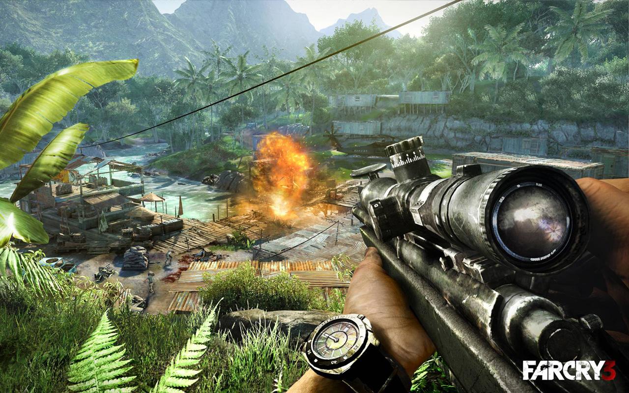 Free Far Cry 3 Wallpaper in 1280x800