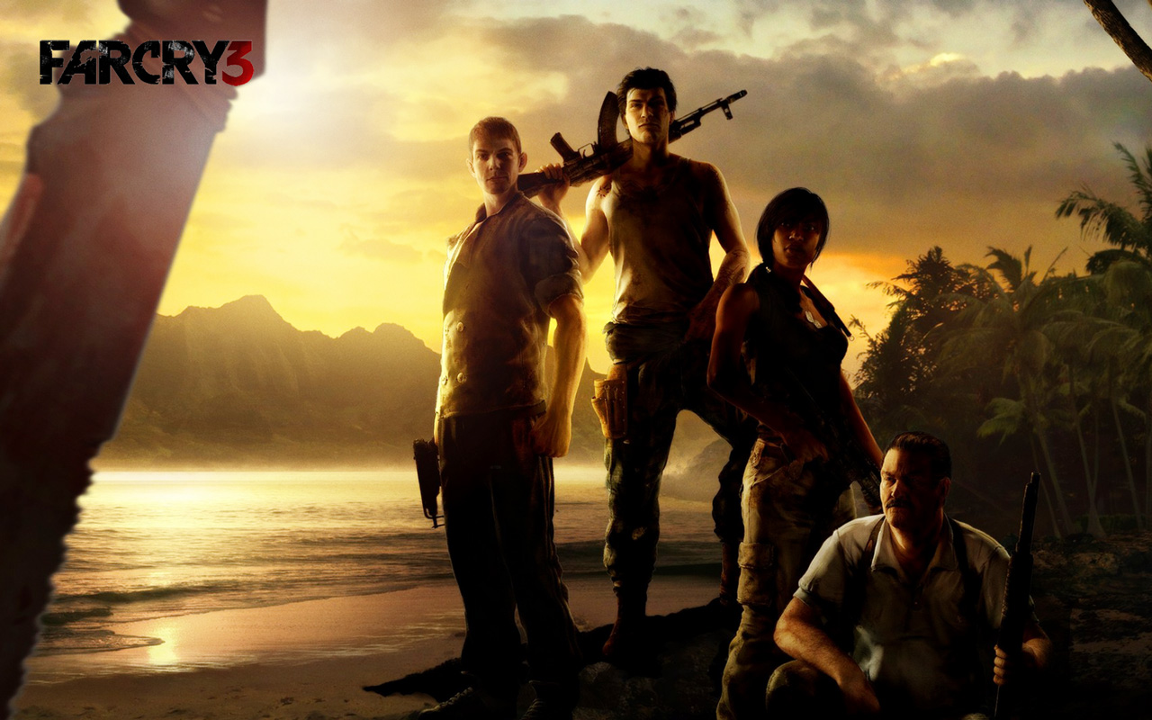 Free Far Cry 3 Wallpaper in 1280x800