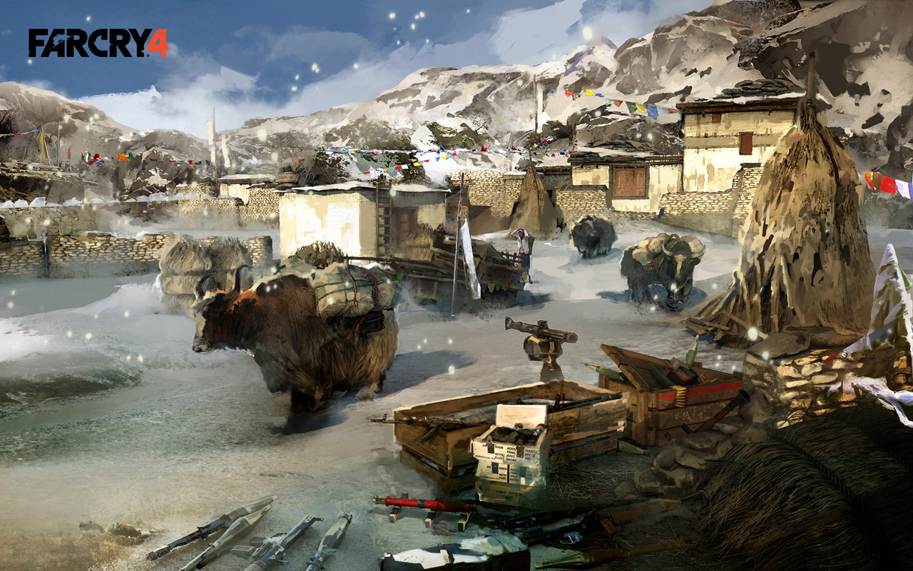 Free Far Cry 4 Wallpaper in 1280x800