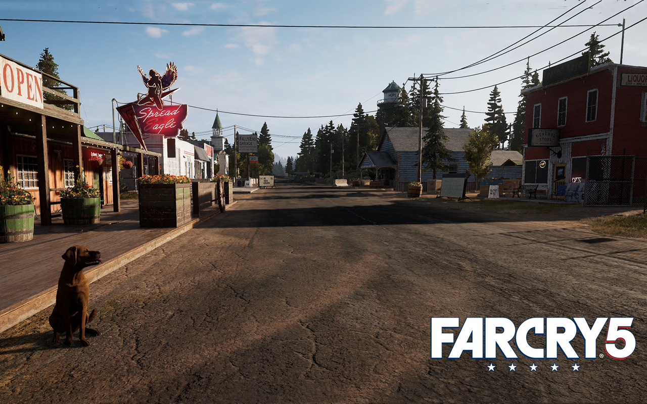 Free Far Cry 5 Wallpaper in 1280x800