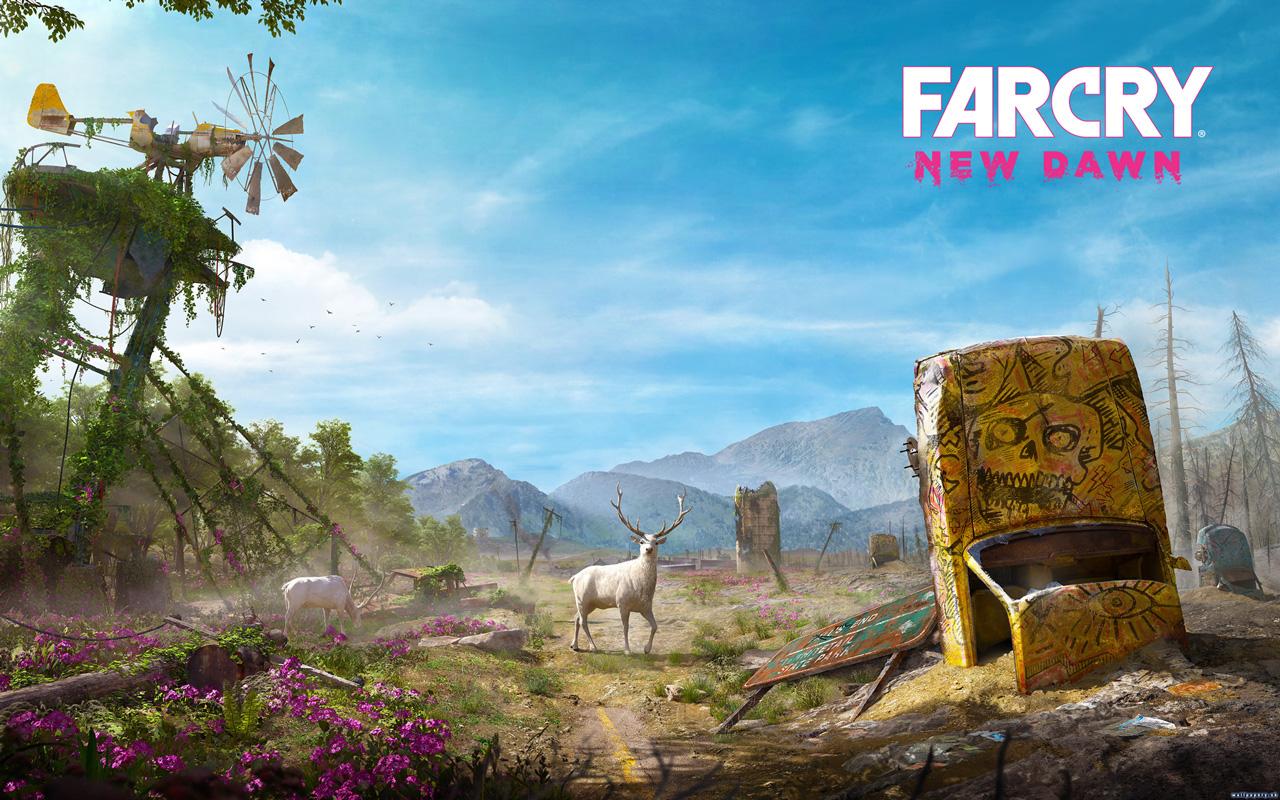 Free Far Cry: New Dawn Wallpaper in 1280x800