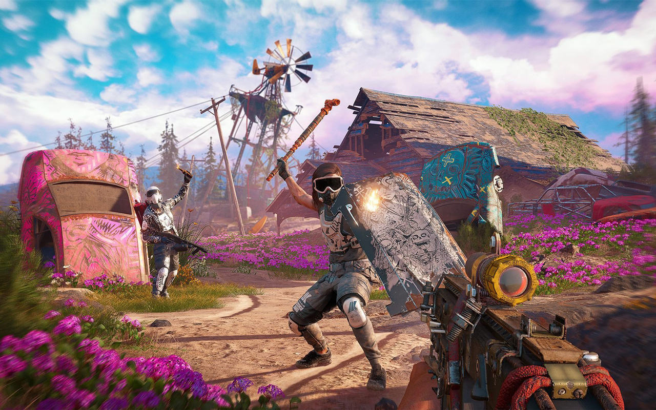 Free Far Cry: New Dawn Wallpaper in 1280x800