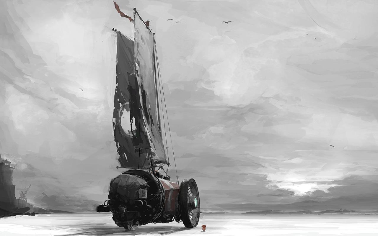 Free FAR: Lone Sails Wallpaper in 1280x800