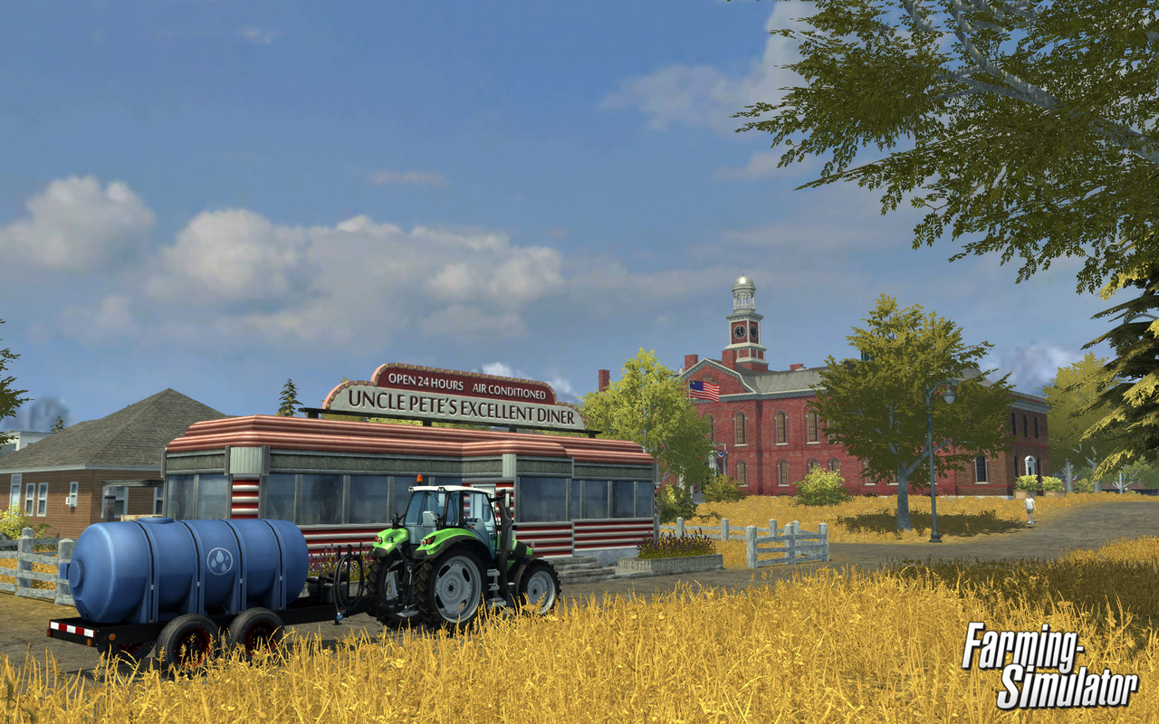 Free Farming Simulator Wallpaper in 1280x800