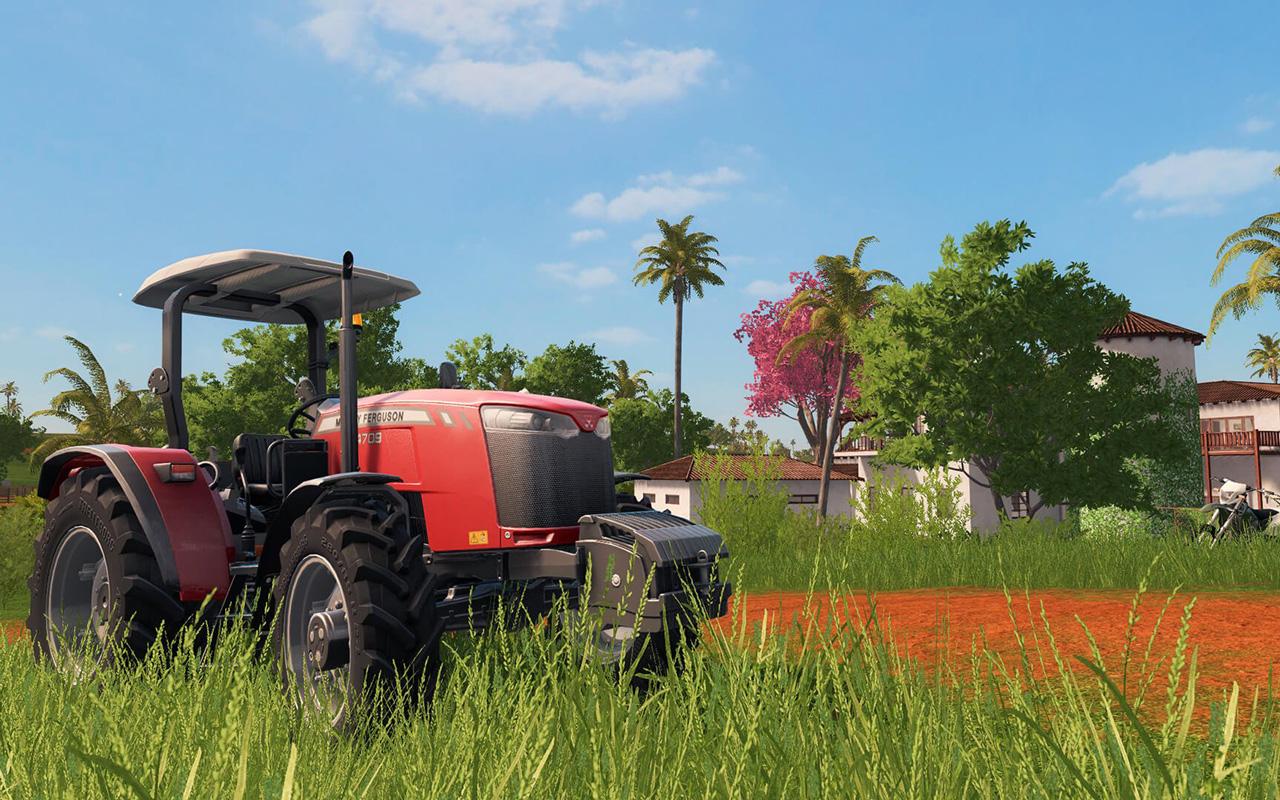 Free Farming Simulator 17 Wallpaper in 1280x800