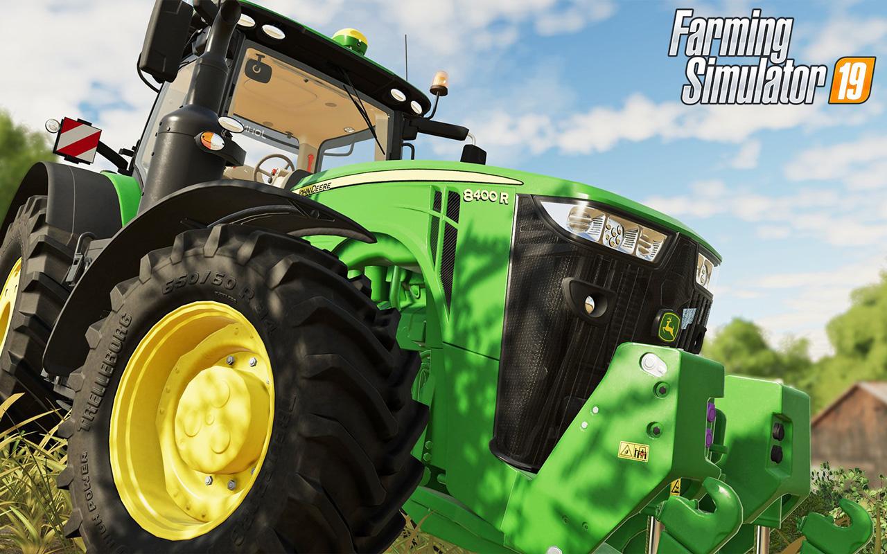 Free Farming Simulator 2019 Wallpaper in 1280x800