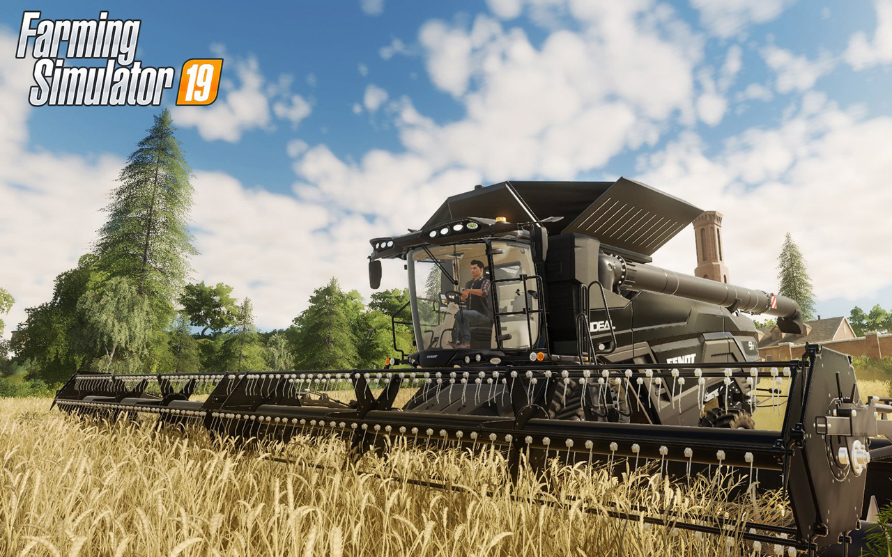 Free Farming Simulator 19 Wallpaper in 1280x800