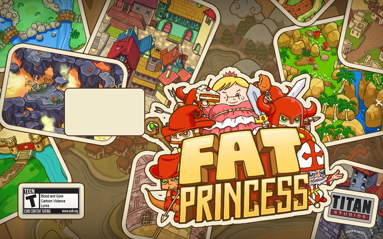 Free Fat Princess Wallpaper in 1280x800