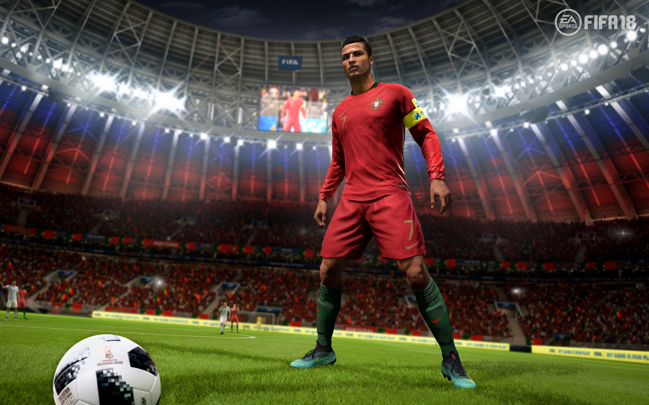 Free FIFA 18 Wallpaper in 1280x800